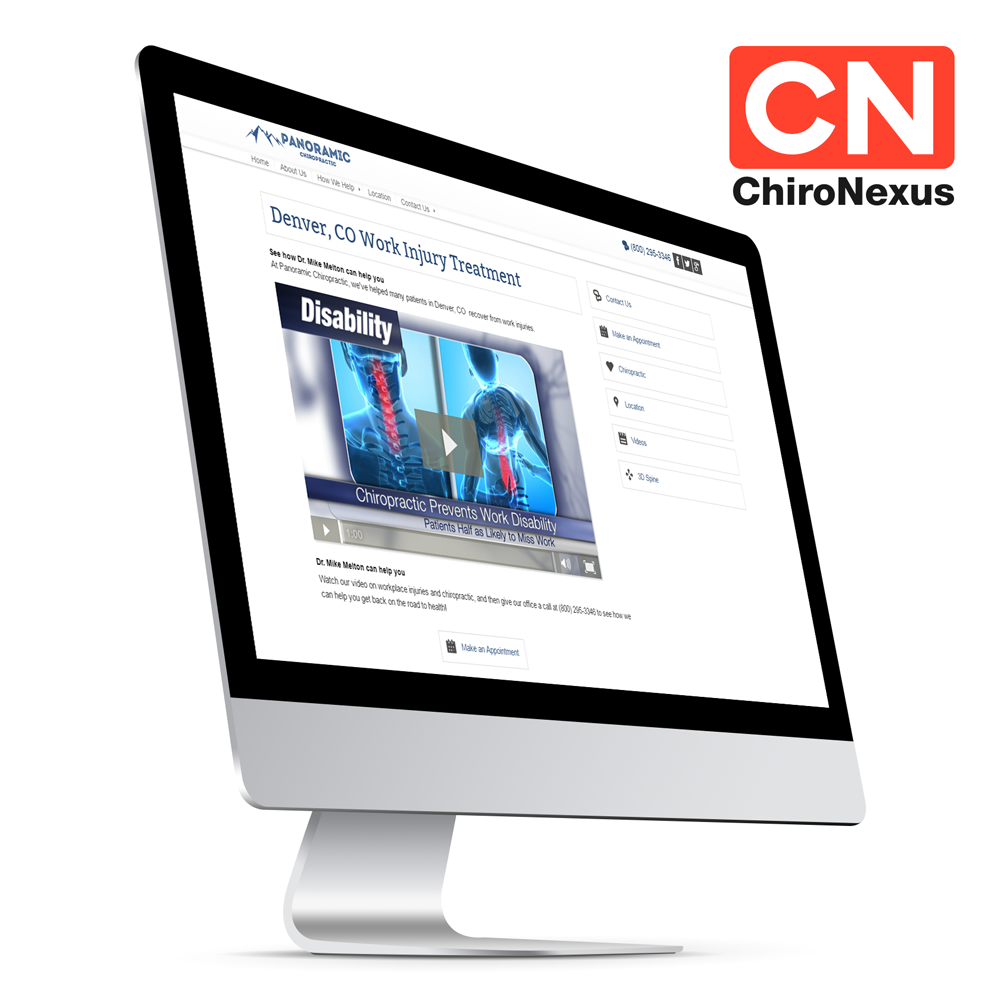 Add professional chiropractic videos by ChiroNexus on your own website.